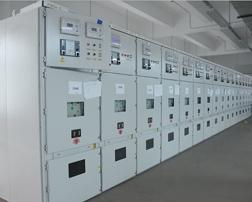 送电中的KYN28柜2
